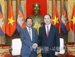 Thủ tướng Hun Sen: Chủ tịch Trần Đại Quang là bạn tốt của Campuchia