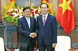 Lào công bố quốc tang Chủ tịch nước Trần Đại Quang trong 2 ngày
