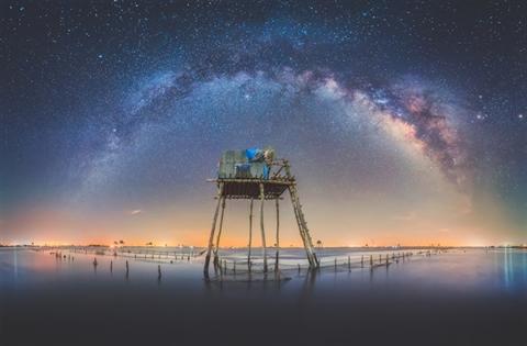 응웬황링(Nguyễn Hoàng Linh) 하늘의 별빛을 바라보는 자
