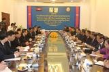 Đoàn Ủy ban Kiểm tra Trung ương thăm và làm việc tại Vương quốc Campuchia