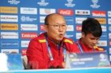 HLV Park Hang-seo tin tưởng các học trò có thể vượt qua thử thách trước đội tuyển Iran