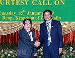 Thúc đẩy hợp tác giữa Quốc hội Việt Nam và Campuchia