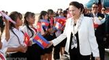 Председатель НС Вьетнама прибыла в Камбоджу для участия в АТПФ-27