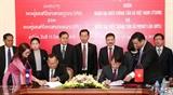 Укрепляется сотрудничество между информационными агентствами Вьетнама и Лаоса