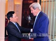 Вице-премьер глава МИД СРВ Фам Бинь Минь принял экс-госсекретаря США Джона Керри