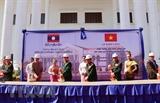 Bộ Quốc phòng Việt Nam giúp nâng cấp Bảo tàng Lịch sử Quân đội Lào