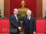 Tổng Bí thư Chủ tịch nước Nguyễn Phú Trọng tiếp Đại sứ Trung Quốc