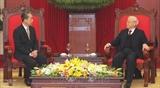 Товарищ Нгуен Фу Чонг принял Посла Китая во Вьетнаме