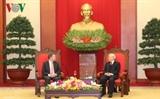 Генсек ЦК КПВ президент Вьетнама принял президента Сената Австралии Скотта Райана