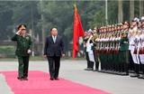 Phó Thủ tướng Bộ trưởng Bộ Quốc phòng Thái Lan thăm Việt Nam