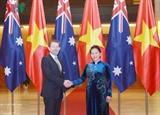Президент сената Австралии завершил официальный визит во Вьетнам