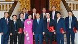 Thủ tướng Nguyễn Xuân Phúc tiếp các Đại sứ Trưởng cơ quan đại diện Việt Nam tại nước ngoài