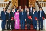 Le PM demande les efforts des ambassadeurs vietnamiens pour contribuer à lédification nationale