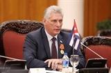Нгуен Фу Чонг поздравил Мигеля Диас-Канеля с избранием на пост президента Кубы