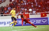 베트남축구대표팀 말레이시아 꺾고 월드컵 향해 전진