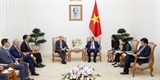 Thủ tướng Nguyễn Xuân Phúc tiếp các nhà đầu tư nước ngoài