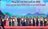 Награждены 63 лучших крестьянина Вьетнама 2019 года