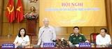 Tổng Bí thư Chủ tịch nước Nguyễn Phú Trọng tiếp xúc cử tri Hà Nội
