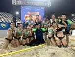 ក្រុមបាល់ទះជម្រើសជាតិផ្នែកនារីវៀតណាមឈានដល់វគ្គពាក់កណ្តាលផ្តាច់ព្រ័ត្រ World Beach Games 2019