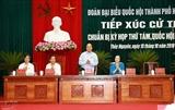 Премьер-министр Нгуен Суан Фук встретился с избирателями в городе Хайфон