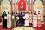 Вице-президент Вьетнама приняла женщин-предпринимателей