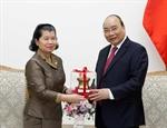 Премьер-министр Нгуен Суан Фук принял Вице-премьера Камбоджи и Губернатора японской префектуры Кагосима