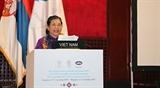 Постоянный Зампредседателя НС Тонг Тхи Фонг выступила на пленарном заседании 141-й Ассамблеи МПС