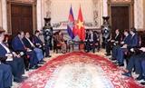 Thúc đẩy hoạt động đầu tư phát triển quan hệ Việt Nam - Campuchia