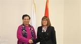 Постоянный зампредседателя НС Тонг Тхи Фонг встретилась с Председателем Народной скупщины Сербии