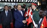 Thủ tướng Nguyễn Xuân Phúc đến thủ đô Tokyo Nhật Bản