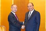 Премьер-министр Вьетнама принял генерального директора корпорации Softbank