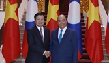 Vietnam Laos enhance special solidarity
