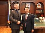 Le Vietnam intensifie les relations avec la République de Kalmoukie