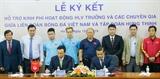 Doanh nghiệp đồng hành cùng đội tuyển bóng đá Việt Nam