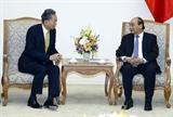 Thủ tướng tiếp Viện trưởng Viện nghiên cứu Đông Á Nhật Bản