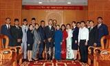 Руководство г.Хошимина приняло участников корабля молодёжи ЮВА и Японии