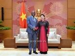 ប្រធានរដ្ឋសភាវៀតណាម លោកស្រី Nguyen Thi Kim Ngan ទទួលជួបជាមួយនាយកធនាគាពិភពលោកប្រចាំនៅវៀតណាម