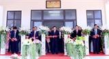 Bàn giao trường Trung học Dakcheung quà tặng của Nhà nước Việt Nam cho nhân dân Lào