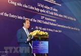 Célébration des 25 ans de lentrée en vigueur de la CNUDM à Hanoi