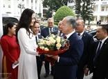 Le président de la Chambre basse kazakh visite lUniversité de Hanoi