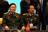 Ouverture de la conférence restreinte des ministres de la Défense de lASEAN en Thaïlande