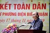 នាយករដ្ឋមន្រ្តីលោក Nguyen Xuan Phuc អញ្ជើញចូលរួមក្នុងទិវាសាមគ្គីភាពនៃប្រជាជាតិទាំងមូលនៅទីក្រុងហាណូយ