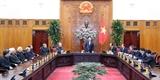 Thủ tướng Nguyễn Xuân Phúc tiếp Hội đồng Giám mục Việt Nam