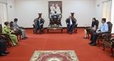 Việt Nam - Campuchia xây dựng đường biên giới hoà bình hữu nghị hợp tác cùng phát triển