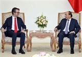 Thủ tướng Nguyễn Xuân Phúc tiếp Đại sứ Trưởng phái đoàn EU tại Việt Nam