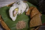Le  banh khuc cô Lan un des plats préférés des Hanoïens