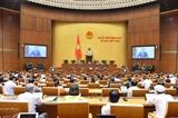 Ouverture des séances dinterpellation de la 8e session de lAssemblée nationale