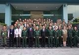 Le 2e cours de formation pour les casques bleus souvre à Hanoi
