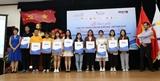 Trao giải thưởng Cuộc thi Phóng viên trẻ Pháp ngữ-Việt Nam 2019