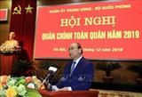 នាយករដ្ឋមន្រ្តីវៀតណាមលោក Nguyen Xuan Phuc អញ្ជើញចូលរួមកិច្ចប្រជុំយោធានយោបាយកងទ័ពទាំងមូលឆ្នាំ២០១៩